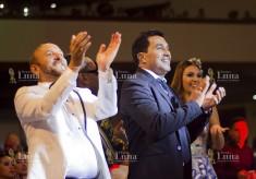 Ley Martin, Checo Acosta y Carolina Segebre (Reina del Carnaval de Barranquilla 2019)