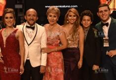 Ley Martin (Fundador Premios Luna) y su familia