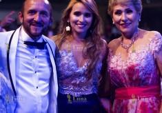 Ley Martin, su hija Vanessa Orozco y su esposa Lidis Rodríguez