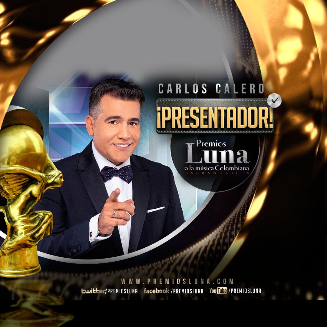 Carlos Calero, Presentador Premios Luna 2019