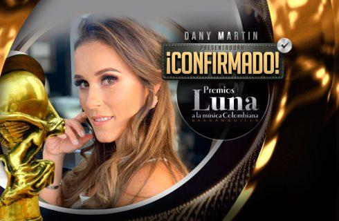 Dany Martin, presentadora de Premios Luna 2019