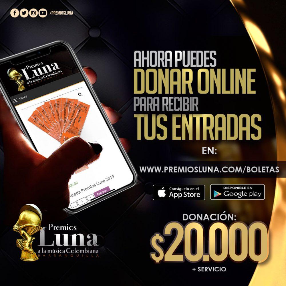 Invitación Premios Luna 2019
