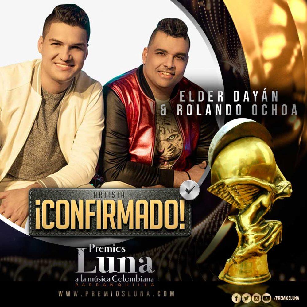 Elder Dayán & R8 en Premios Luna 2019