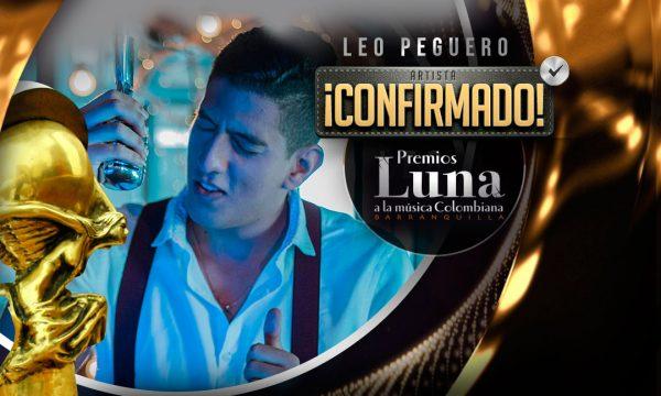 Leo Peguero en Premios Luna 2019