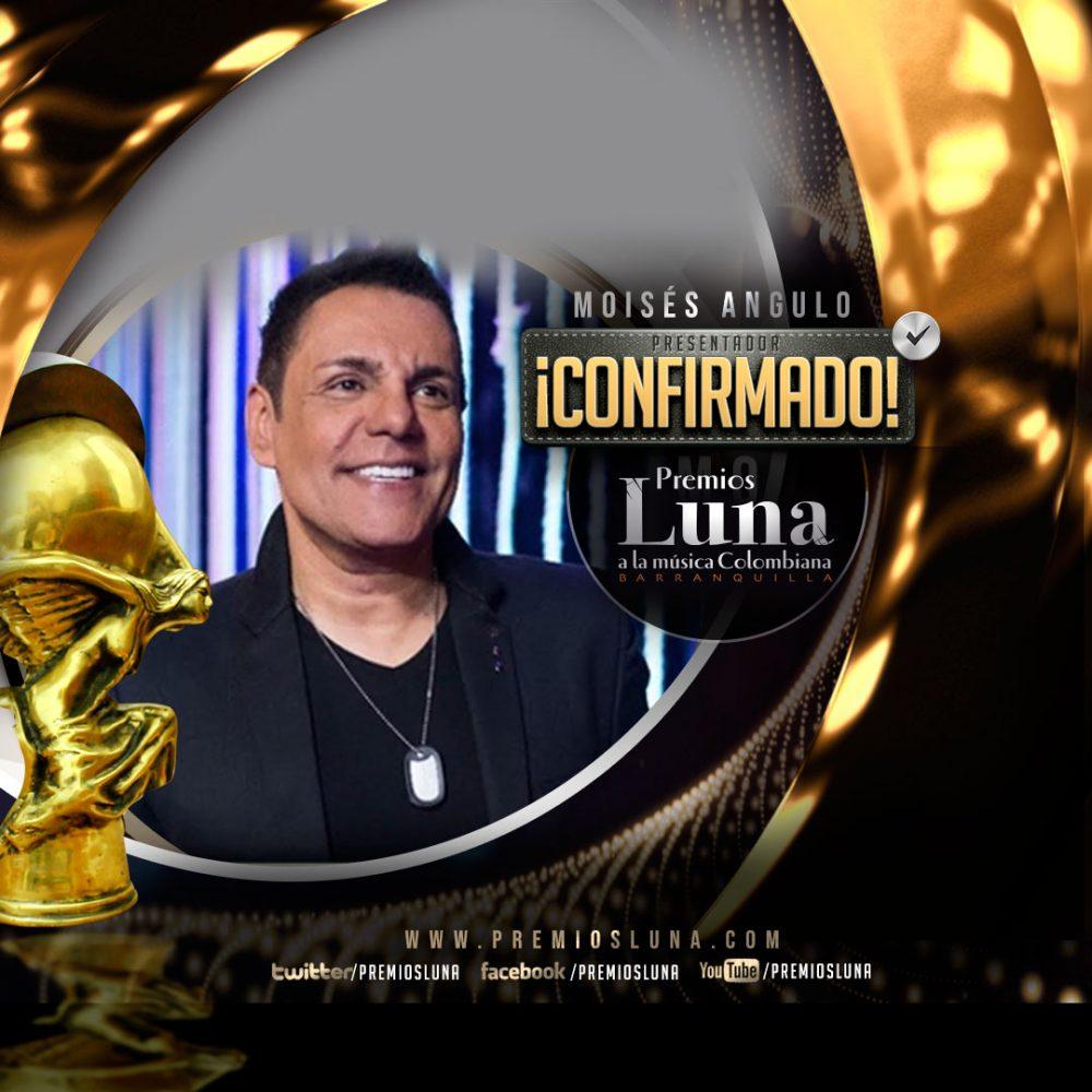 Moisés Angulo actuará y conducirá Premios Luna 2019