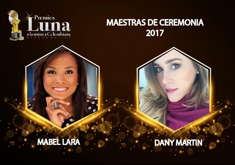 Presentadoras de Premios Luna