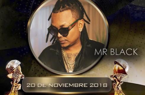 MR. BLACK viene con todo a los Premios Luna