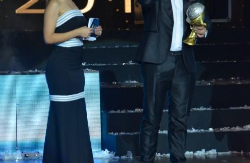 La sorpresa de la noche en la Categoría Aplausos: Óscar Prince