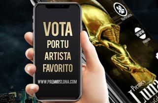 ¡Vota Ya por tu artista favorito!